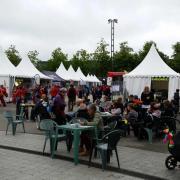 Le site du champs de mars à Rennes