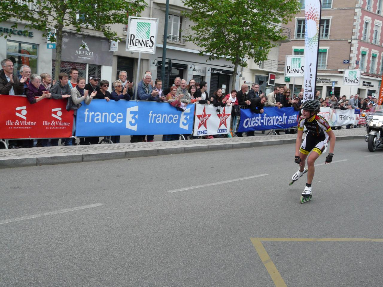 Marie Poidevin, la vainqueur féminine