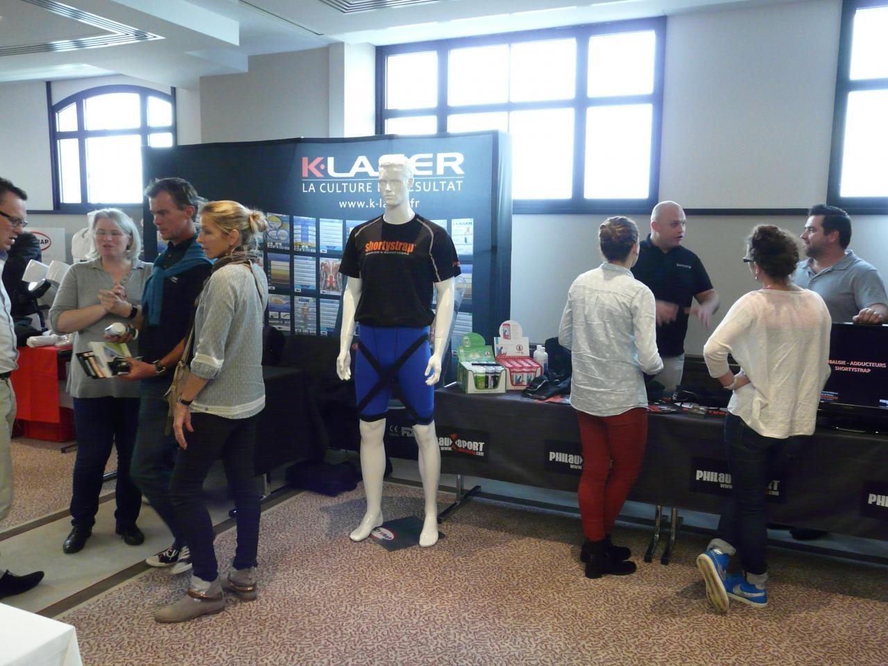 Les sponsors avec Shorty Strap et K-laser