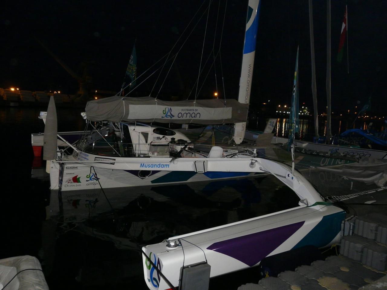 A la barre du MOD 70 Musandam-Oman Sail