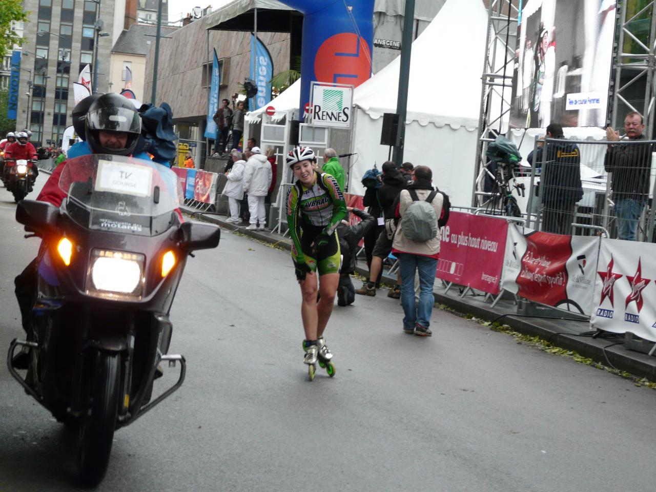 La vainqueur féminine du marathon
