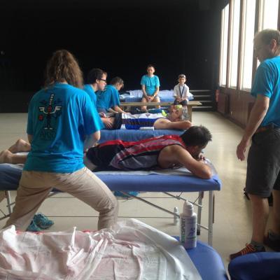 Le laboratoire Insphy nous a fourni en soins du sportif