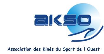 Association des Kinés du Sport de l'Ouest