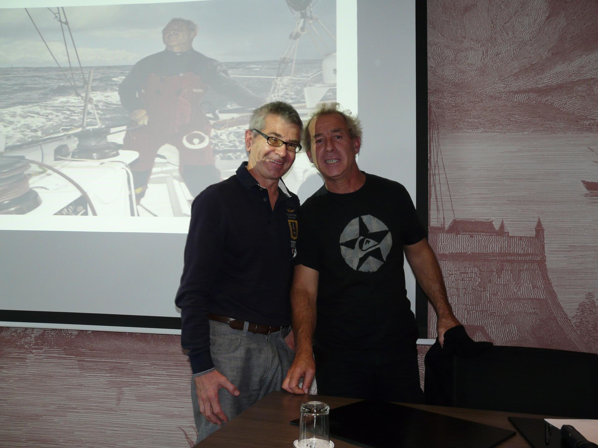 Laurent Jourdain est venu nous faire partager son expérience de la course au large